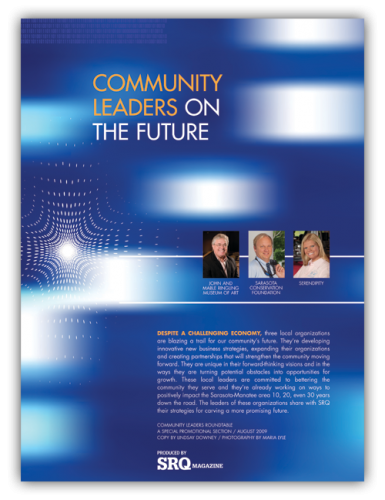 SRQ_Mag_August_2009_CommunityLeadersCover